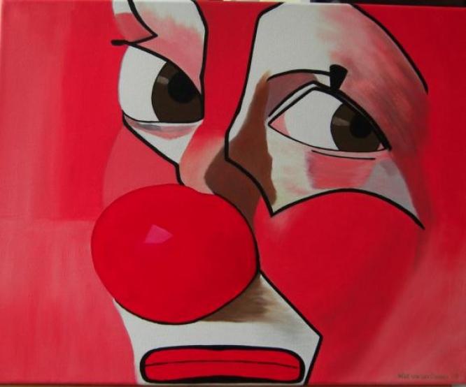 84 Sad Clown