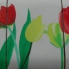 257 Drieluik Tulpen