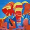 276 elephants walk