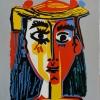 427 Buste de femme au chapeau